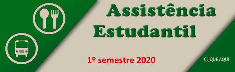 Política de Assistência Estudantil - 1º semestre de 2020