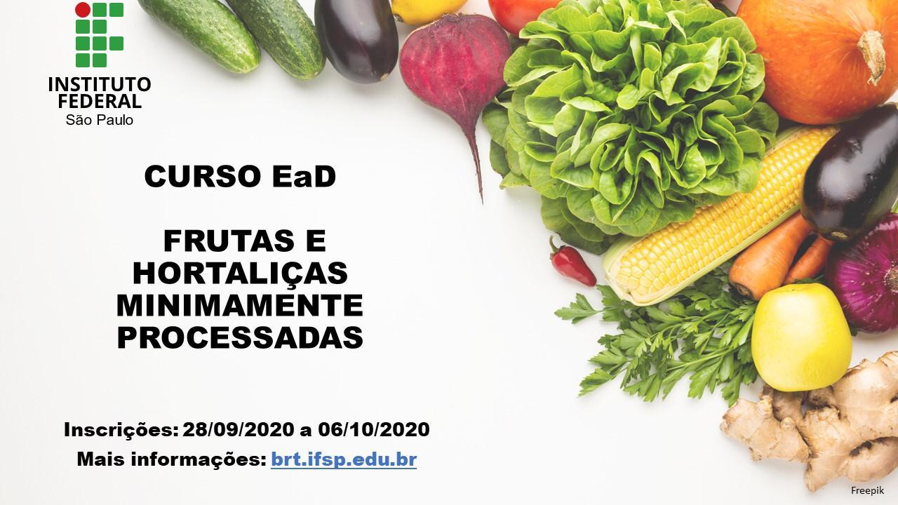 Curso EaD - Frutas e Hortaliças