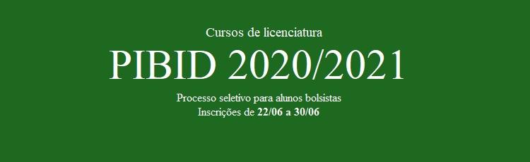 PIBID 2020/2021