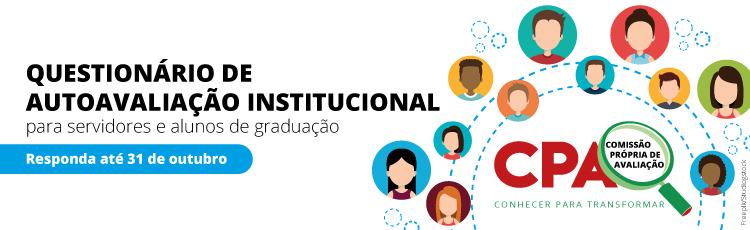 Alunos e servidores, participem da avaliação institucional!